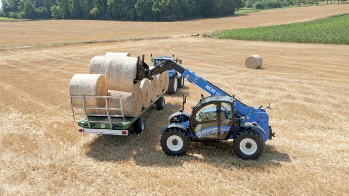Télescopique agricole - New Hollandsérie LM: de la performance et du confort