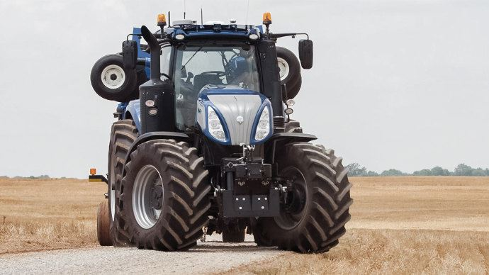 Sima Innovation Awards 2017 - Médaille d'argent: New Holland NHDrive, le tracteur autonome avec cabine