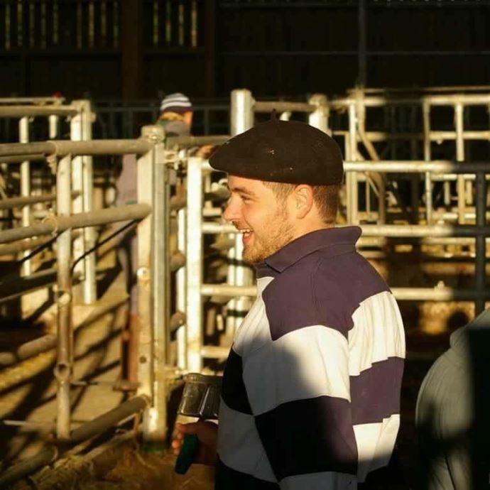 Arthur Nadeau, de Gironde, en projet d'installation agriculteur