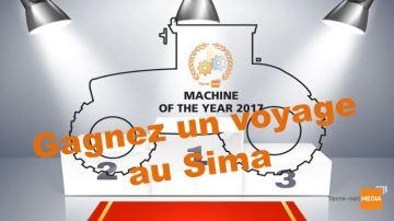 Votez et gagnez un voyage au Sima!