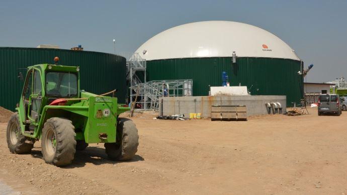 Méthanisation unité de biogaz