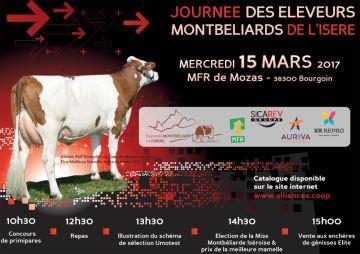 Journée des éleveurs montbéliards de l'Isère