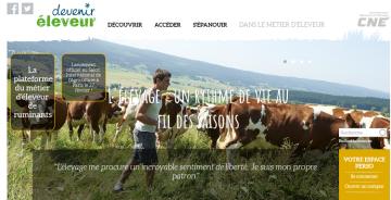 La Confédération nationale de l'élevage lance son site internet collaboratif