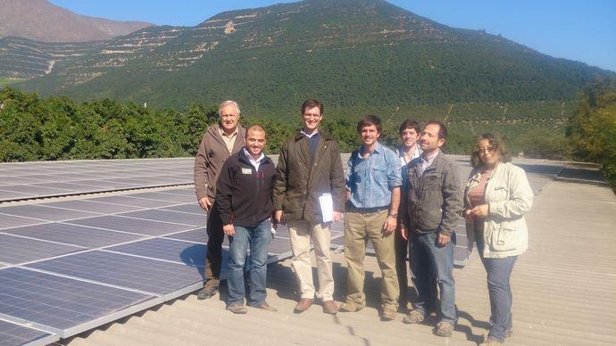 Les exploitants de la société Agricola Las Torres ont réussi à diminuer leurs coûts énergétiques.