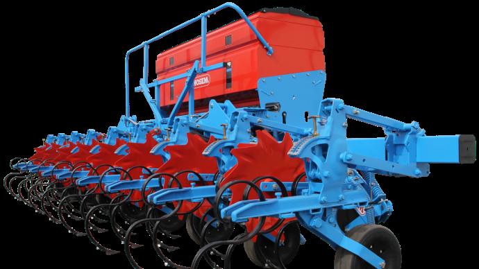 Monosem Multicrop avec fertiliseur de 1030 litres