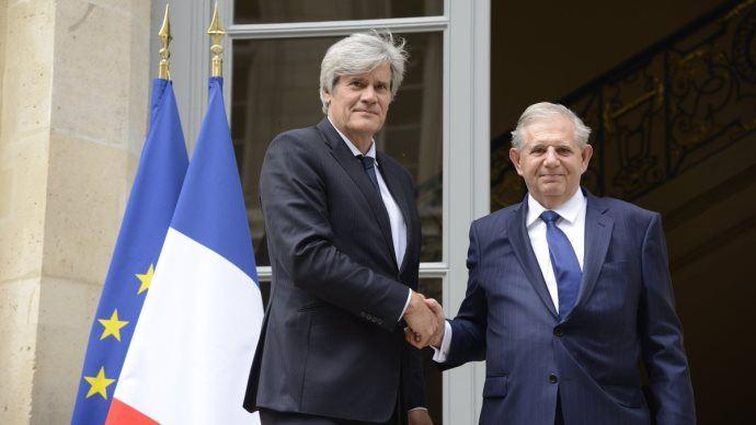 Jacques Mézard et Stéphane Le Foll