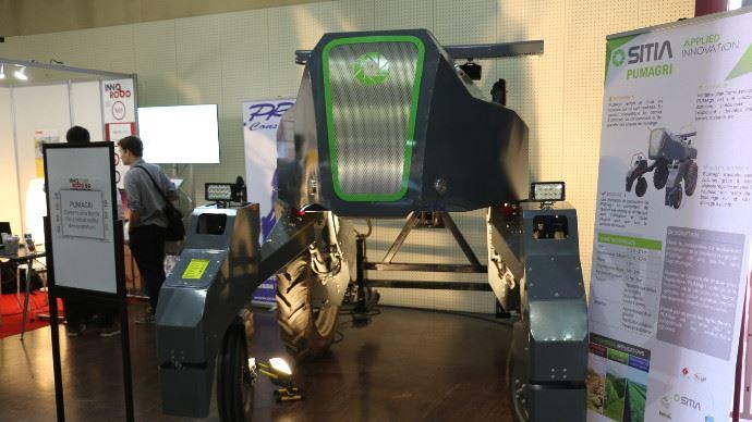 Le robot PUMAgri de Sitia