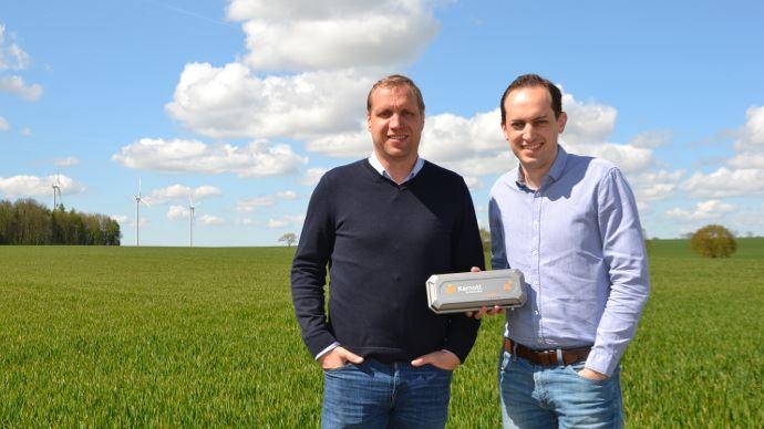 Antoine Dequidt et Alexandre Cuvellier, fondateurs de Karnott, viennent de lever un million d'euros.