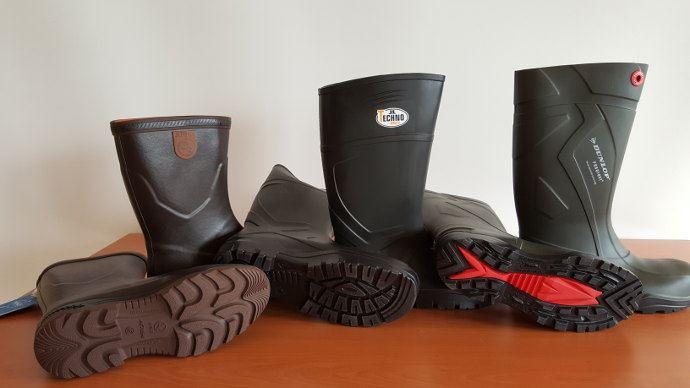 Comparatif de bottes agreicoles Aigle, Dunlop, Technoboot
