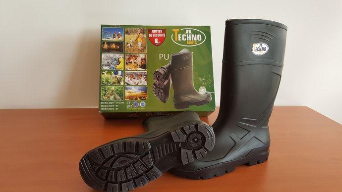 Les bottes Technoboots distribuées par Ukal, sont les plus confortable de notre test