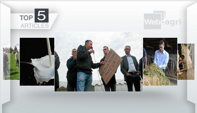 Articles les plus lus cette semaine sur Web-agri