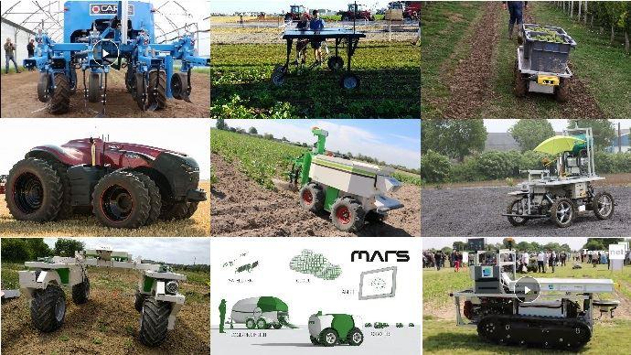 Robots agricoles