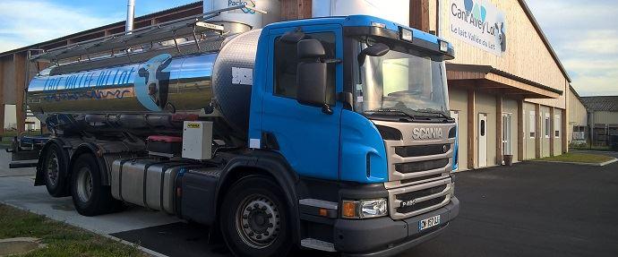 Camion laitier