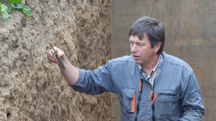 Frédéric Thomas, agriculteur