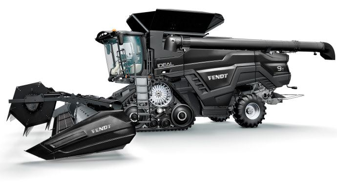 Nouvelle moissonneuse batteuse Fendt Ideal 9