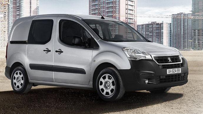 LEs véhicules du type des Peugeot Partner sont les plus courant dans les exploitations française