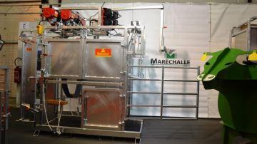 Six moteurs électriques sur la nouvelle cage de parage Maréchalle