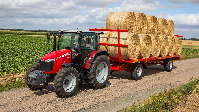 Massey ferguson toffe sa gamme de tracteurs de la s rie 5700 - Image tracteur ...