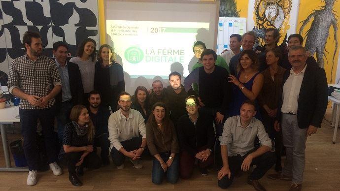 Les représentants des 13 start-up de La Ferme Digitale ont accueill, mercredi 20 septembre, les créateurs de 8 nouvelles