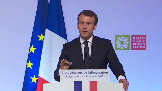 A Rungis, Emmanuel Macron a prononcé un discours fleuve de plus d'une heure, annonçant une stratégie de transformation des filières, en mettant tous les acteurs