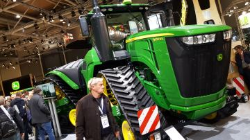 Les 11 plus gros tracteurs du monde à l'Agritechnica