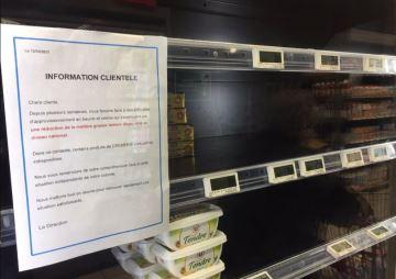 30% de la demande de beurre non satisfaite mi-octobre