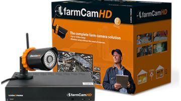 La FarmCam HD surveille les bâtiments jusqu'à 1250mètres