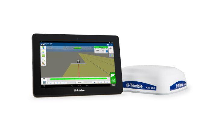 La nouvelle console Trimble GFX 750 et le système de guidage NAV 900