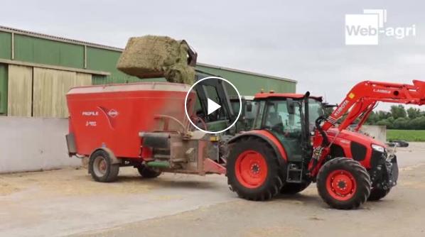 Essai tracteur Kubota M5001