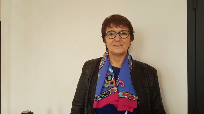 Christiane Lambert, présidente de la FNSEA depuis avril 2017.