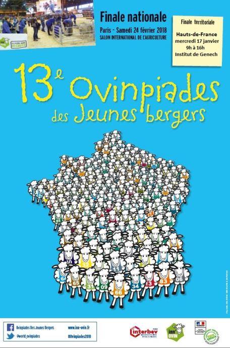 Affiche des 13e Ovinpiades
