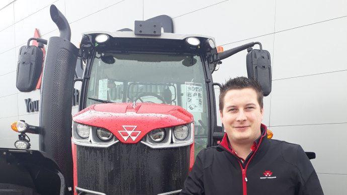 Conseil d'achat tracteur (2/3) - Massey Ferguson: «Une plus-value à la revente avec le freinage pneumatique»