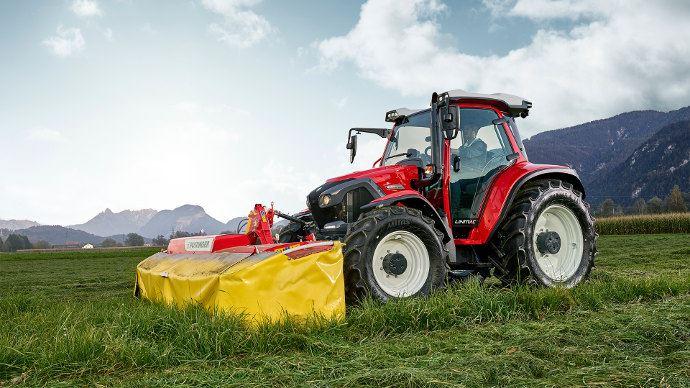 Lindner Lintrac 110, le premier tracteur autonome dédié à l'élevage