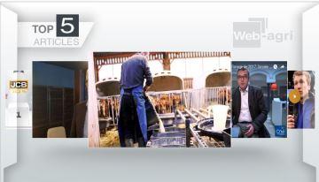 Sur le podium cette semaine: le kéfir, la conjoncture laitière et l'essai du T5