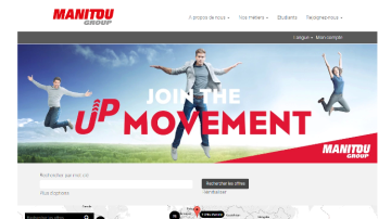 Join the up Movement, Manitou  lance une nouvelle campagne de recrutement !