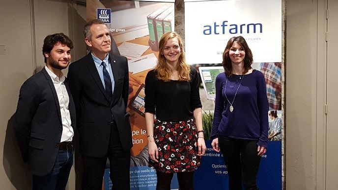 Conférence Atfarm par l'équipe Yara France