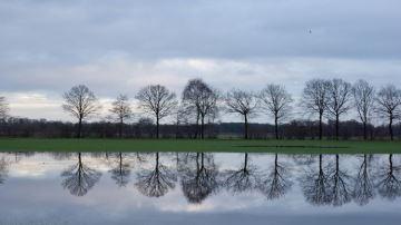 77% de précipitations en plus en mars