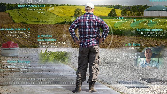 Quel futur se dessine avec les big-datas en machinisme agricole?