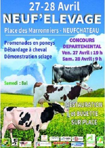 Concours départemental des Vosges les 27 et 28 avril 2018