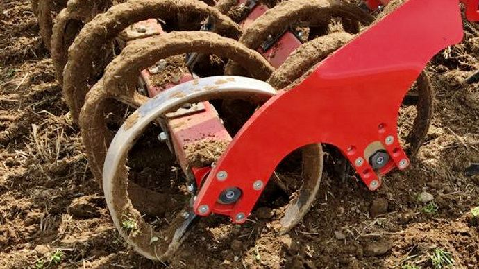 Horsch Ring Flex Double pour le nivellement du sol