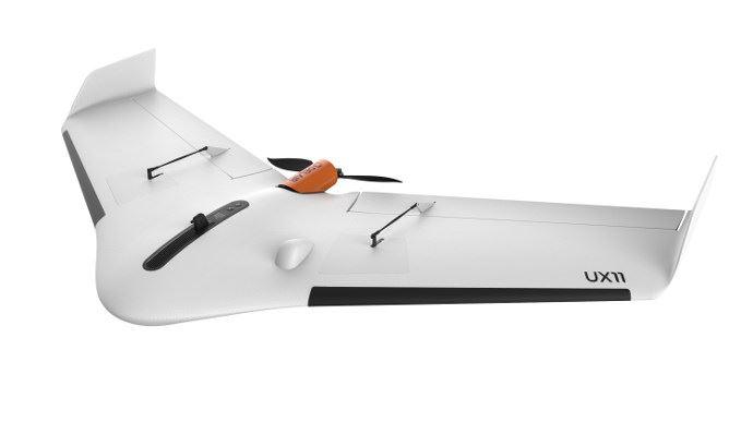 Delair UX11, le drone connecté qui permet la connexion en 3G/4G