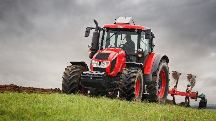 Tracteur Zetor Forterra HD