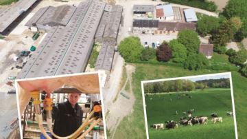 Découvrez l'exploitation laitière de Denis Mousset (61) le 24 juin 2018