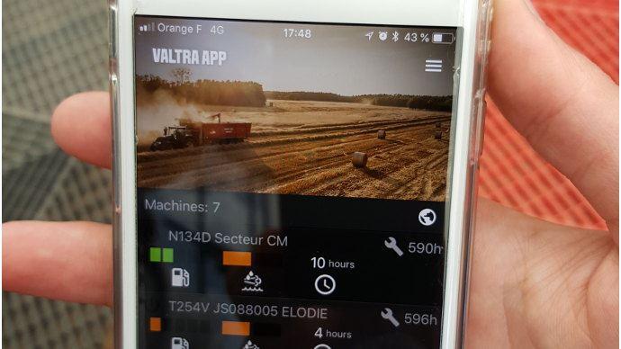 Valtra Connect, toute la flotte tracteur à portée de main