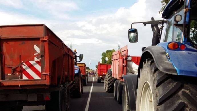 Blocages menés par les agriculteurs