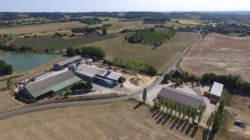 En Dordogne, la coopérative Grasasa déshydrate 8000 tonnes de luzerne par an