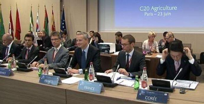 En juin 2011, la France, sous la présidence de Nicolas Sarkozy, avait organisé le premier G20 agricole à Paris.