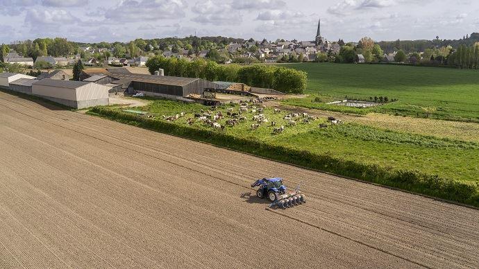 Entre 2010 et 2016, le nombre d'exploitations agricoles a diminué de 11%.