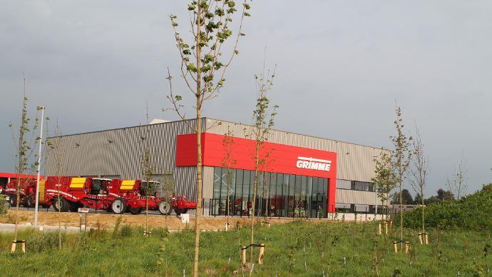 Grimme ouvre un site en Belgique