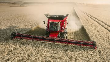 Axial Flow 250: la récolte automatisée selon Case-IH